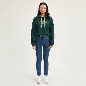 Levi's Women's 501 Skinny Jeans, Sansome Stonewash